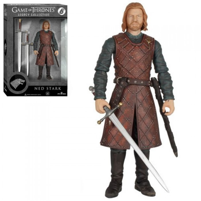 Ned Stark Action Figure #6 Funko /> Game of Thrones Legacy Collection