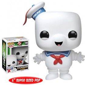 Ghostbusters Stay Puft Marshmallow Man 6-Inch Pop! Vinyl Figure
