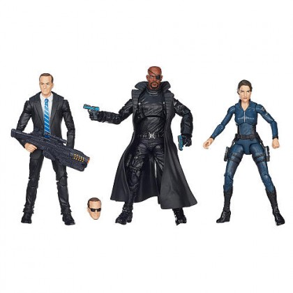 Marvel Avengers Agents of Shield 3-Pack