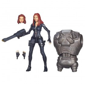 CAPTAIN AMERICA MARVEL LEGENDS BLACK WIDOW FIGURE