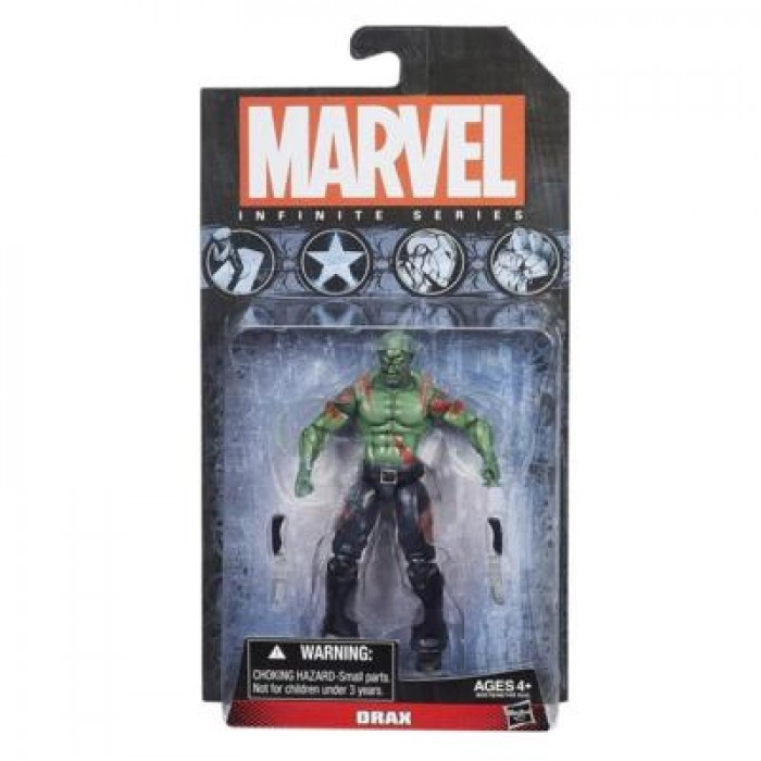"Marvel Infinite Series Drax Guardians of the Galaxy 3.75/"" Action Figure Hasbro"