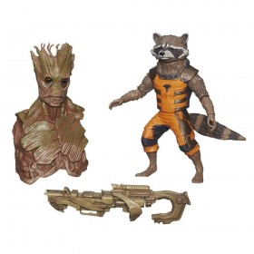 Marvel Guardians Of The Galaxy Rocket Racoon Figure
