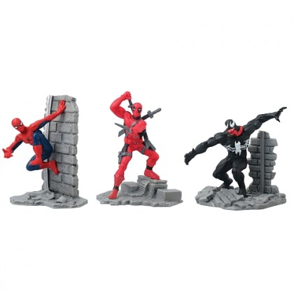 Marvel Collectible Diorama 3 Pack Set