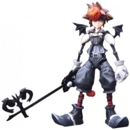 Kingdom Hearts Play Arts Action Figure: Sora (Halloween Version)