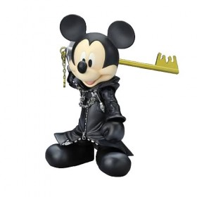 Kingdom Hearts Play Arts Action Figure: King Mickey (Original XIII Version)