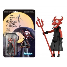Nightmare Before Christmas: The Devil ReAction 3 3/4-Inch Retro Action Figure