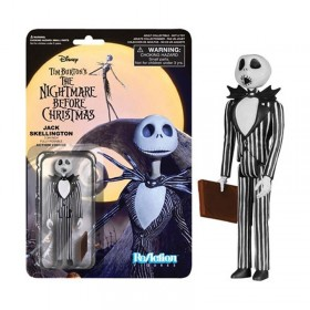 Nightmare Before Christmas: Jack Skellington ReAction 3 3/4-Inch Retro Action Figure