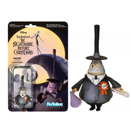 Nightmare Before Christmas: The Mayor ReAction 3 3/4-Inch Retro Action Figure