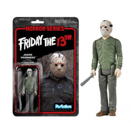 Horror: Friday the 13th Jason Voorhees ReAction 3 3/4-Inch Retro Action Figure