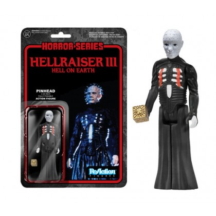 Horror:Hellraiser Pinhead ReAction 3 3/4-Inch Retro Action Figure