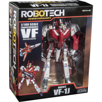 Robotech 30th Anniversary Miriya 1:100 Scale VF-1J Veritech Transformable Action Figure