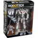 Robotech 30th Anniversary Rick Hunter 1:100 Scale VF-1J Veritech Transformable Action Figure