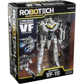 Robotech 30th Anniversary Roy Fokker 1:100 Scale VF-1S Veritech Transformable Action Figure