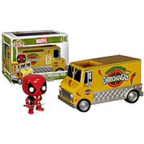 Marvel  Deadpool Taco Ride Pop! Vinyl