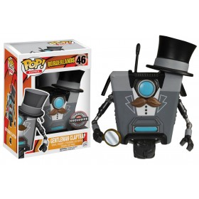 Borderlands Gamestop Gentleman Clap Pop! Vinyl Exclusive