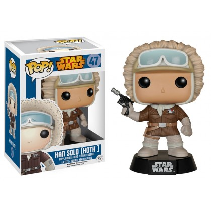 Star Wars Gamestop Han Solo (Hoth) Pop! Vinyl Exclusive