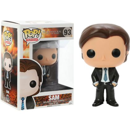Supernatural Sam FBI Pop! Vinyl