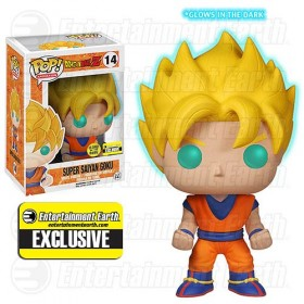 Dragon Ball Z Super Saiyan Goku Pop! Vinyl GITD Exclusive