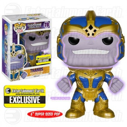 Marvel Guardians of the Galaxy Thanos Pop! Vinyl Exclusive GITD