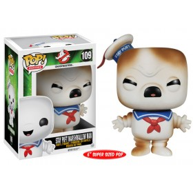 Ghostbusters Stay Puft Marshmallow Man 6-Inch Pop! Vinyl Figure Toasted Varient