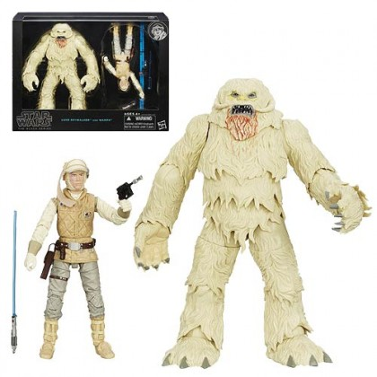 Star Wars The Black Series Hoth Luke Skywalker Action Figure with Wampa