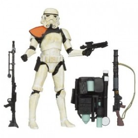 Star Wars The Black Series Sandtrooper (Orange)
