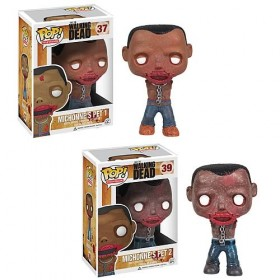 Walking Dead Michonne's Pet Walkers Pop! Vinyl Figures Case