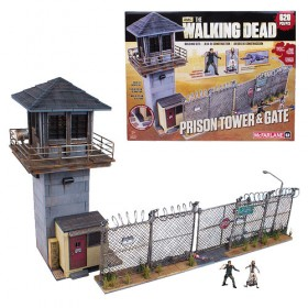 Walking Dead McFarlane Building Set: Prison Tower Mini-Figure Building Set