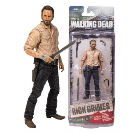 Walking Dead TV Series 6 Rick Grimes Action Figure