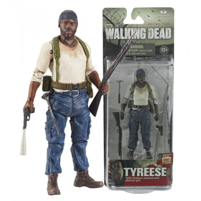 Walking Dead Tv Series 5 Tyreese Action Figure Dewmanchu